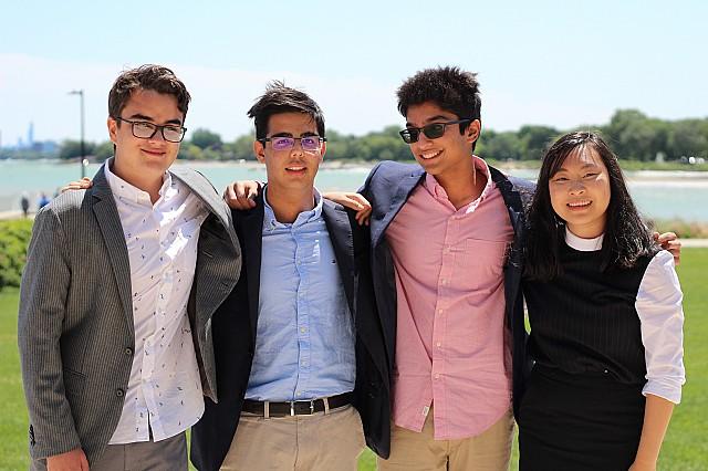 Dotbot team at LaunchX summer program