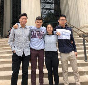startup team Packmat at MIT during LaunchX summer program
